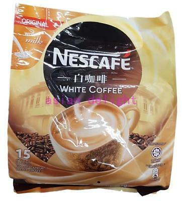 NESCAFE White Coffee Original with milk Premix Instant White Coffee ( 40g x15s )