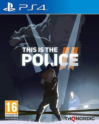 This Is The Police 2 (PS4)  BRAND NEW AND SEALED - IN STOCK - QUICK DISPATCH