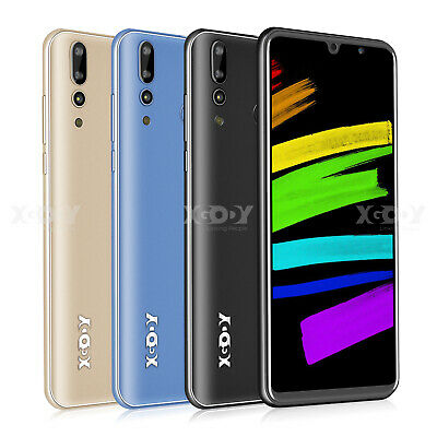 XGODY Android 8GB Mobile Smart Phones Quad Core Dual SIM Smartphone Unlocked GPS