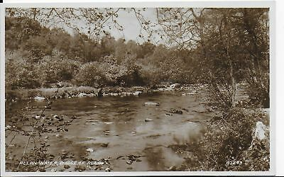 Rare Early Vintage  Postcard,allan Water,bridge Of Allan,stirlingshire,rp