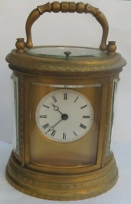Fine Antique French 8-Day Repeater Carriage Clock  A/f