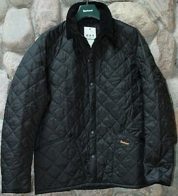 Barbour Jacket Coat Liddesdale Heritage Black MQU0240BK91 Quilted XX-Large XXL