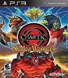 Chaotic: Shadow Warriors (Sony PlayStation 3, PS3, 2009)  BRAND NEW / SEALED