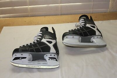 CCM 92 NHL Logo Ice Hockey Skates Youth Size 1 Excellent Condition