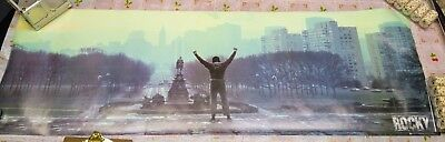 ROCKY GIANT MOVIE DOOR POSTER 21x62 Sylvester Stallone