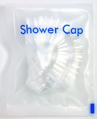 Clear Shower Cap Elasticated Hair Mask Protector