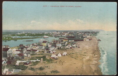 Early Picture Post Card, Birdseye View Of Nome, Alaska