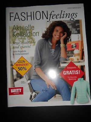 Witt Weiden Fashion Feelings Katalog Lookbook Herbst Winter 2018 Catalog