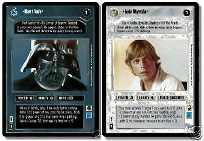 Verzamelingen STAR WARS CCG REFLECTIONS VRF CARD THE CIRCLE IS NOW COMPLETE