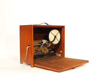 Excellent, Working 1915 Bunnell Printing Telegraph In Original Travel Cabinet