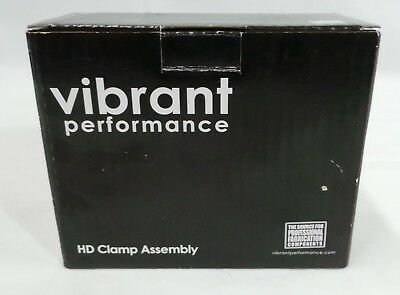 Vibrant Performance  12518 HD Clamp System Kit for 4in OD Tubing