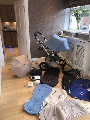 Bugaboo Cameleon 3 Pushchairs Single Seat Stroller With Lots Of Accessories