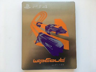 WipEout Omega Collection PS4, Playstation 4, Steelbook (Leerhülle)