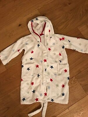 Little White Company Dressing Gown Age 4-5 years