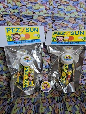 PEZ in the Sun- Myrtle Beach convention dispenser 2018- RARE- only 75 made!