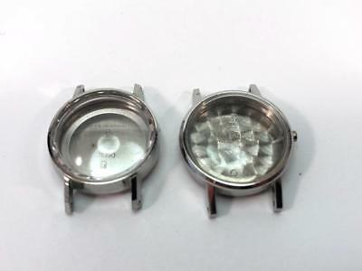 Lot of 2  watch cases Omega  New old stock 1970