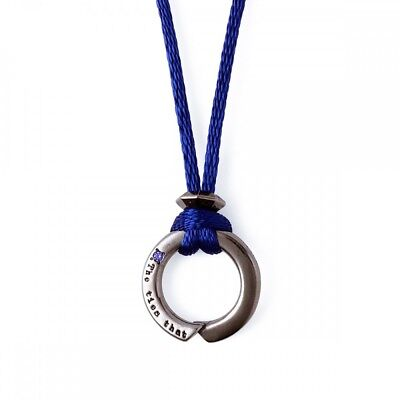 Evangelion × THE KISS collaboration  Mark.06 Infinity Mark Silver Necklace