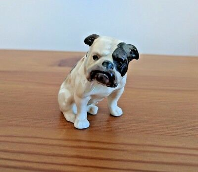 Rare Royal Doulton Miniature Bulldog, Seated K1
