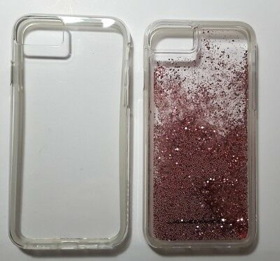 newest 8ac9c d9764 2 CASES-ORIGINAL CASE-MATE Tough Rose Gold Waterfall Case For iPhone 6/ 7/ 8
