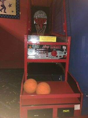 Ice NBA hoop fever arcade redemption game