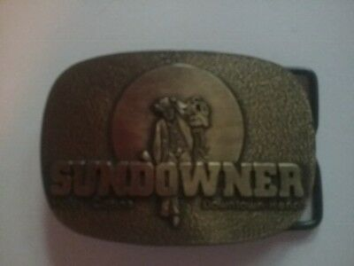 Sundowner Reno Hotel Casino Belt Buckle