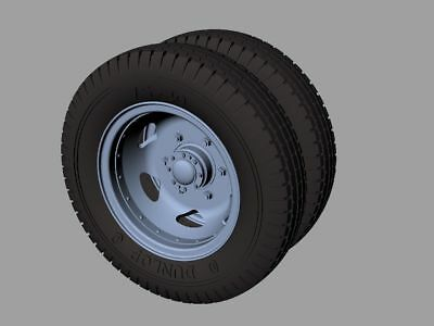 Panzer Art 35375 Road Wheels for Opel Blitz Early (Commercial)   1:35
