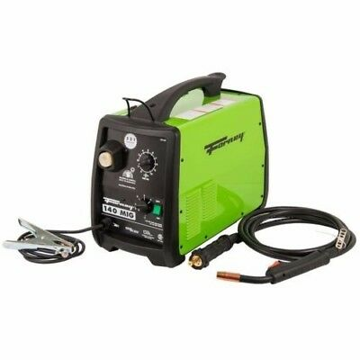 Forney Mod.309 Portable Automotive Repair 140-Amp 120-Volt Wire-Feed MIG Welder