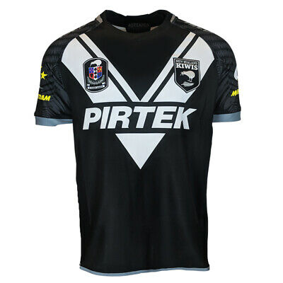 New Zealand Kiwis 2018 ISC NRL Mens On Field Home Jersey Sizes S-5XL! BNWT's!