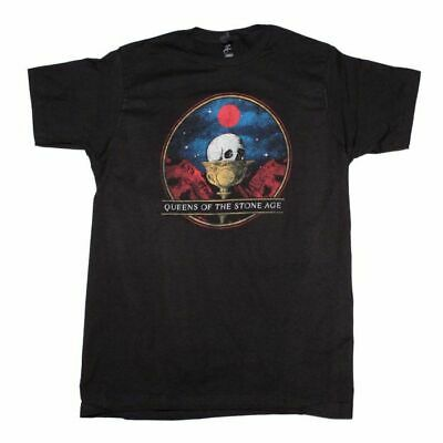 Queens of the Stone Age Chalice Black T-Shirt Men's Licensed Band Tee s-M-L-XL