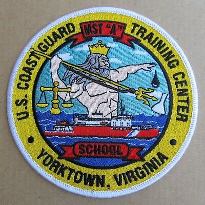 U.S. Coast Guard Training Center embroidered patch - NEW ITEM
