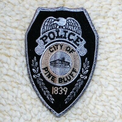 Pine Bluff, Arkansas, Police Patch - excellent condition, appears unused