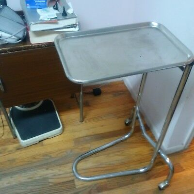 Steel medical tray table, tattoo equipment
