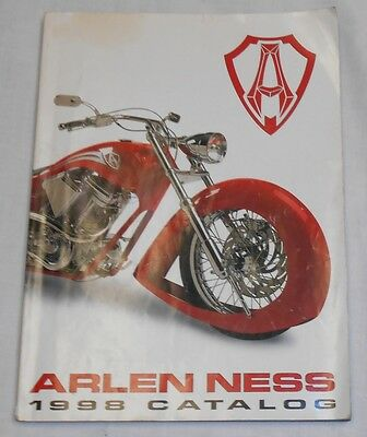 1998 Arlen Ness Motorcycles Catalog Parts & Accessories Collectible