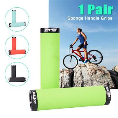 Bicycle Handle Bar Grip Double Lock On BMX MTB Mountain Bike Cycle Grip Colorful
