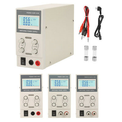 30/60V 5/10A Digital Switching DC Power Supply Adjustable Variable Precision Lab