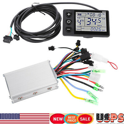 36V-48V 350W Electric Bicycle E-bike Scooter Brushless DC Motor Speed Controller