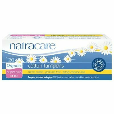 Tampons Super 20 Ct par Natracare