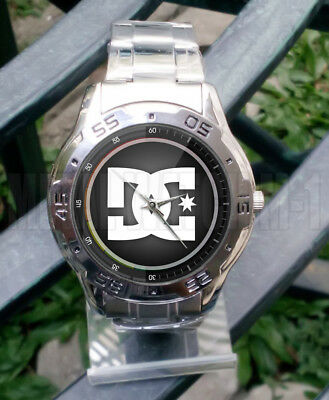 5827757ab7 NEW STYLE Death Of DC Shoes Dying Bleeding Logo UNISEX WRISTWATCHES