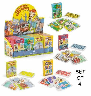 Childrens Card Games Pairs Snap Family Traditional Fun Gift