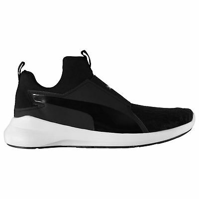 Puma Rebel Mid VR Fitness Training Shoes Womens Black Gym Trainers Sneakers a9c33a0f4