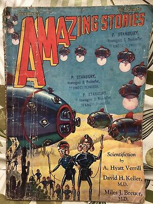 Amazing Stories Pulp Magazine