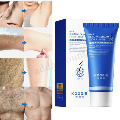 60g HAIR REMOVAL CREAM Magic Shave Cream - Razor-Less Shaving System