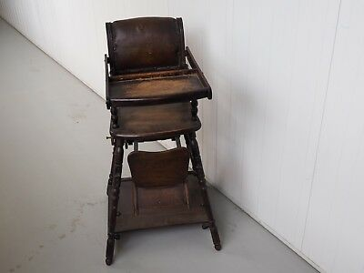 Antique Child's High Chair, Play Seat, Stroller - Wedlake, Ashton & Co Liverpool