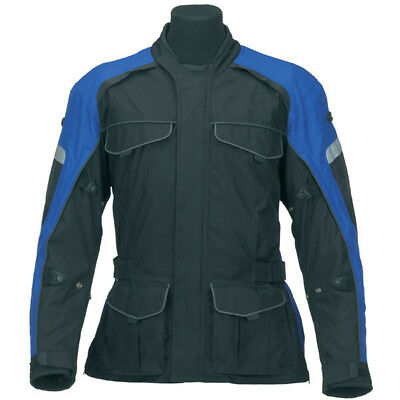 Spada Dyno Waterproof Motorcycle Jacket Blue