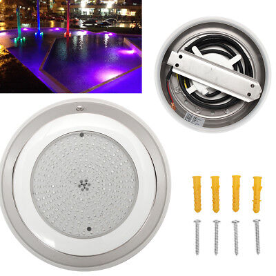 18W RGB 252LED AC12V 230MM Stainess 100% Resin Filled LED Swimming Pool Light