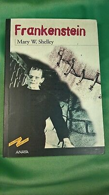 Buch Frankenstein. Mary Shelley. Anaya. 2001
