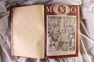 Magazine The World. Foreign policy and economy. 2º semester. 1941 The World