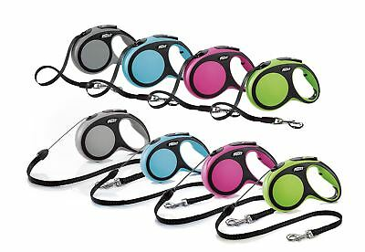 Flexi New Comfort Retractable Lead Cord/Tape For Dogs Various Sizes & Colours