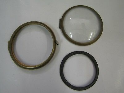 3 x Small Original English Clock Bezels