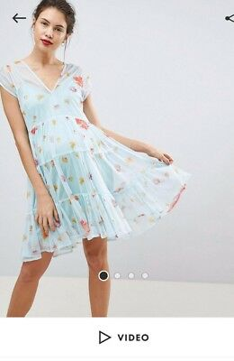 Maternity dress ASOS 10 worn once wedding party